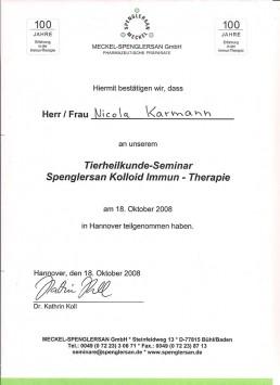 Immun-Therapie Tierheilkunde